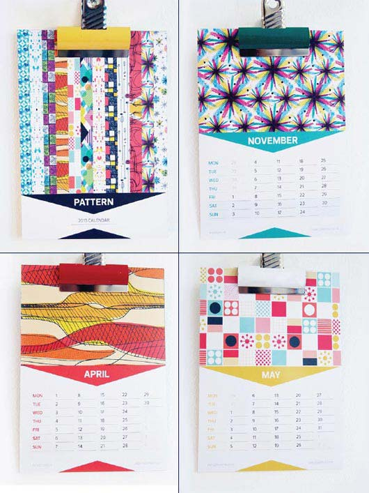 Desk Calendar Design : Awesome calendar designs jayce o yesta