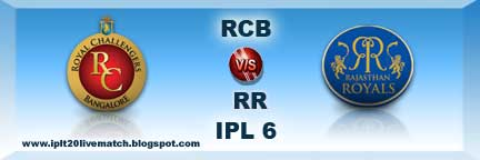 IPL 6 RB vs RR Full Highlight Match and RB vs RR Most Sixes Highlight