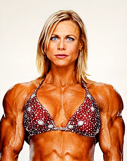 Am Kind Of Obsessed With This Series He Did On Female Bodybuilders