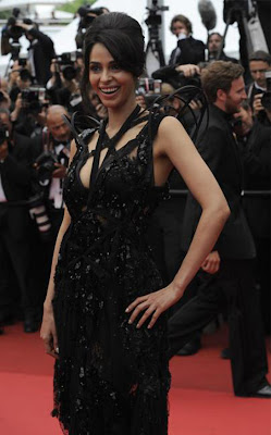 Mallika Sherawat at the Pirates of the Caribbean Premiere at Cannes Film Festival 2011