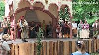 opening of medieval market in Bernkastel-Kues