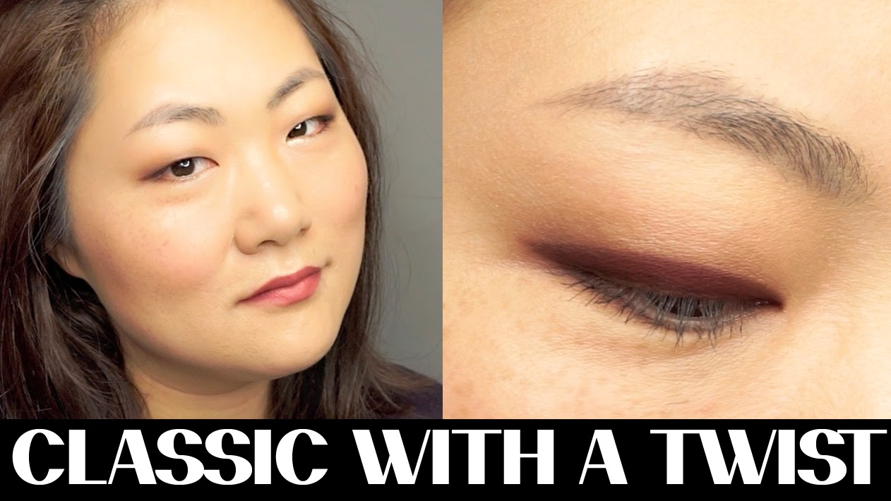 monolid, asian eyes, eyeliner, classic with a twist