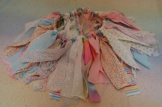 scrap fabric tutu