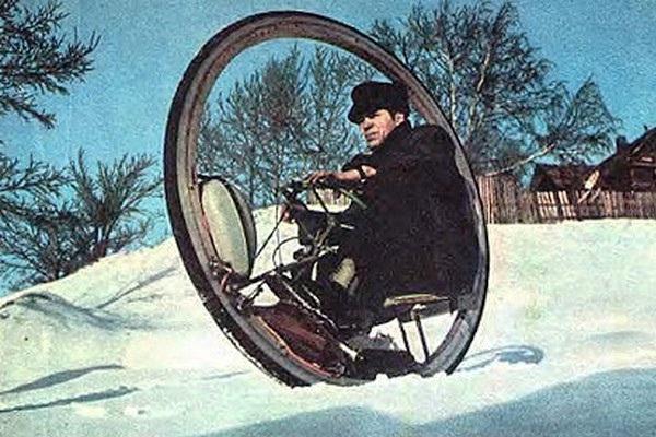 Kendaraan Monowheel