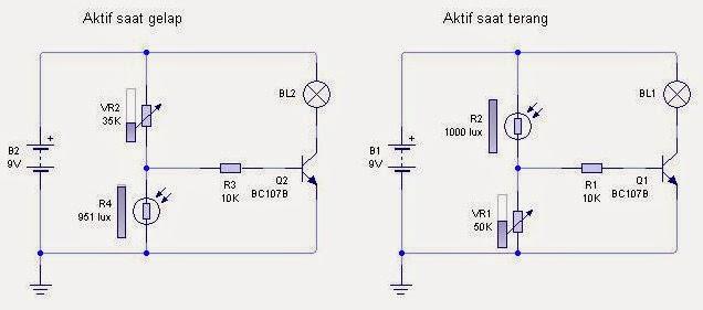 Cara Membuat Lampu Taman Menyala Secara Otomatis Dengan menggunakan Sensor Cahaya LDR  ( Light Dependent Resistor )