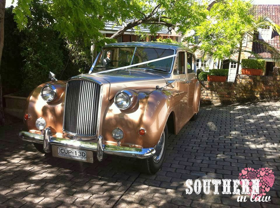 Southern In Law: WEDDING: The Car