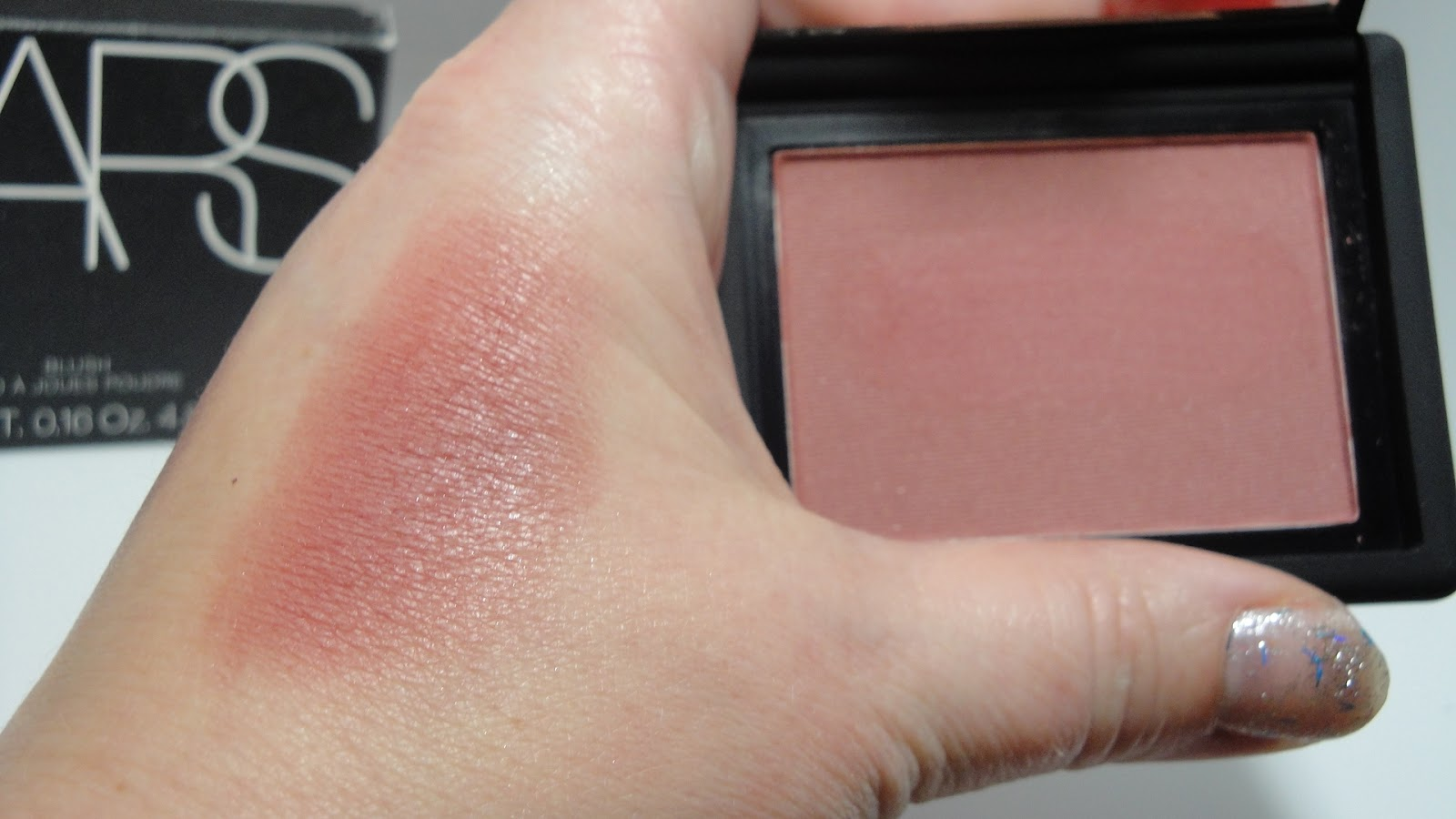 jayded dreaming beauty blog dolce vita nars blush swatches and review. Black Bedroom Furniture Sets. Home Design Ideas