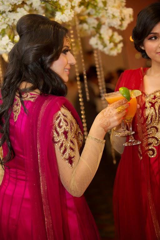 south asian wedding, reception