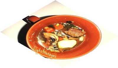 Σούπα με μοσχάρι light