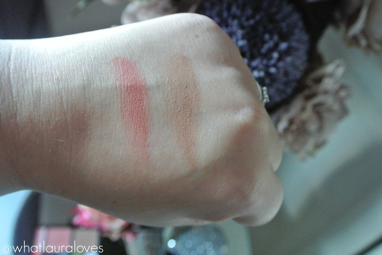 Freedom House of GlamDolls Exotica Doll Look Palette Lipstick Shades Blush Shade Swatches
