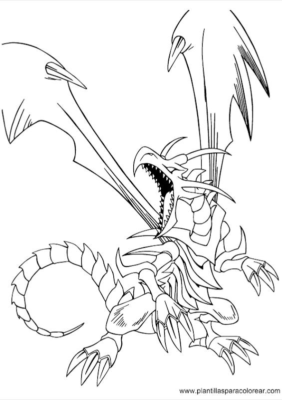 Yu Gi Oh para dibujar pintar y colorear title=