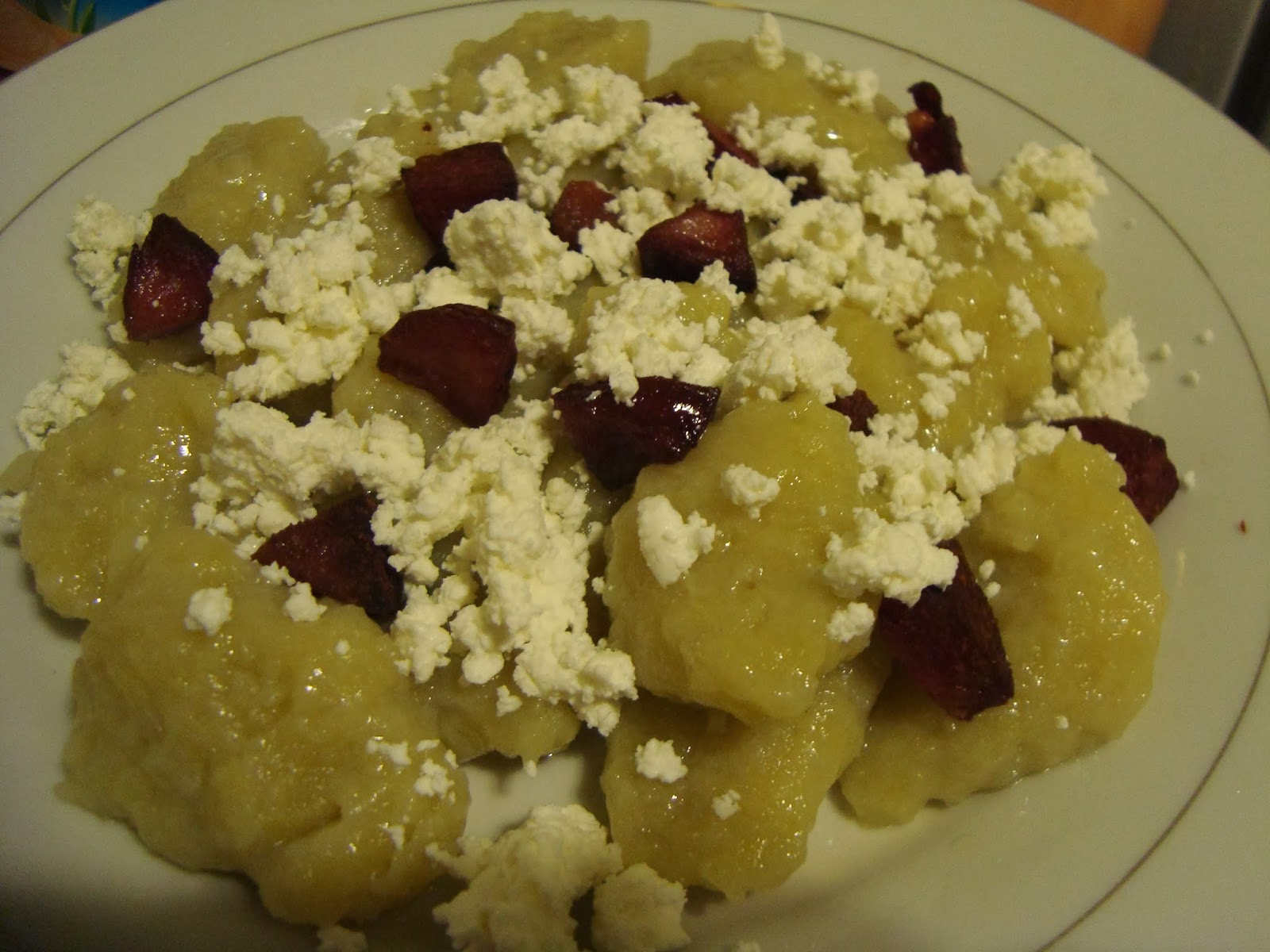 tradycyjne kluski ziemniaczane