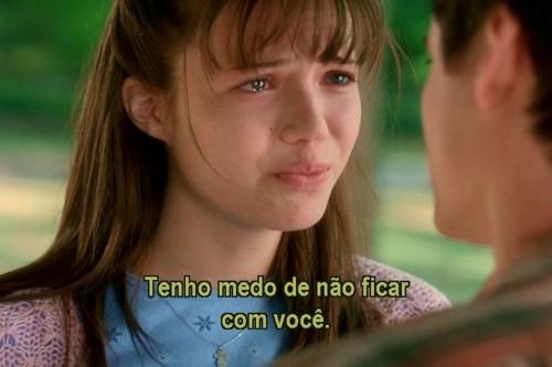Frases Pensamentos Etc Frases Do Filme Um Amor Pra Recordar