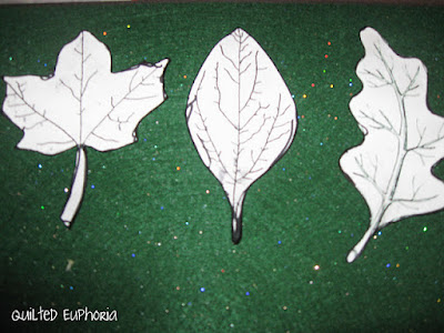 Fall Leaf Cutouts for Crafts
