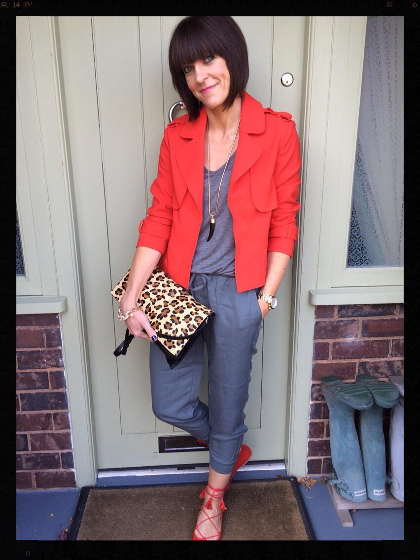 My Midlife Fashion, Leopard Print, Animal Print, Hush, Zara, Office Shoes, J Crew, Classic Pave Link Bracelet