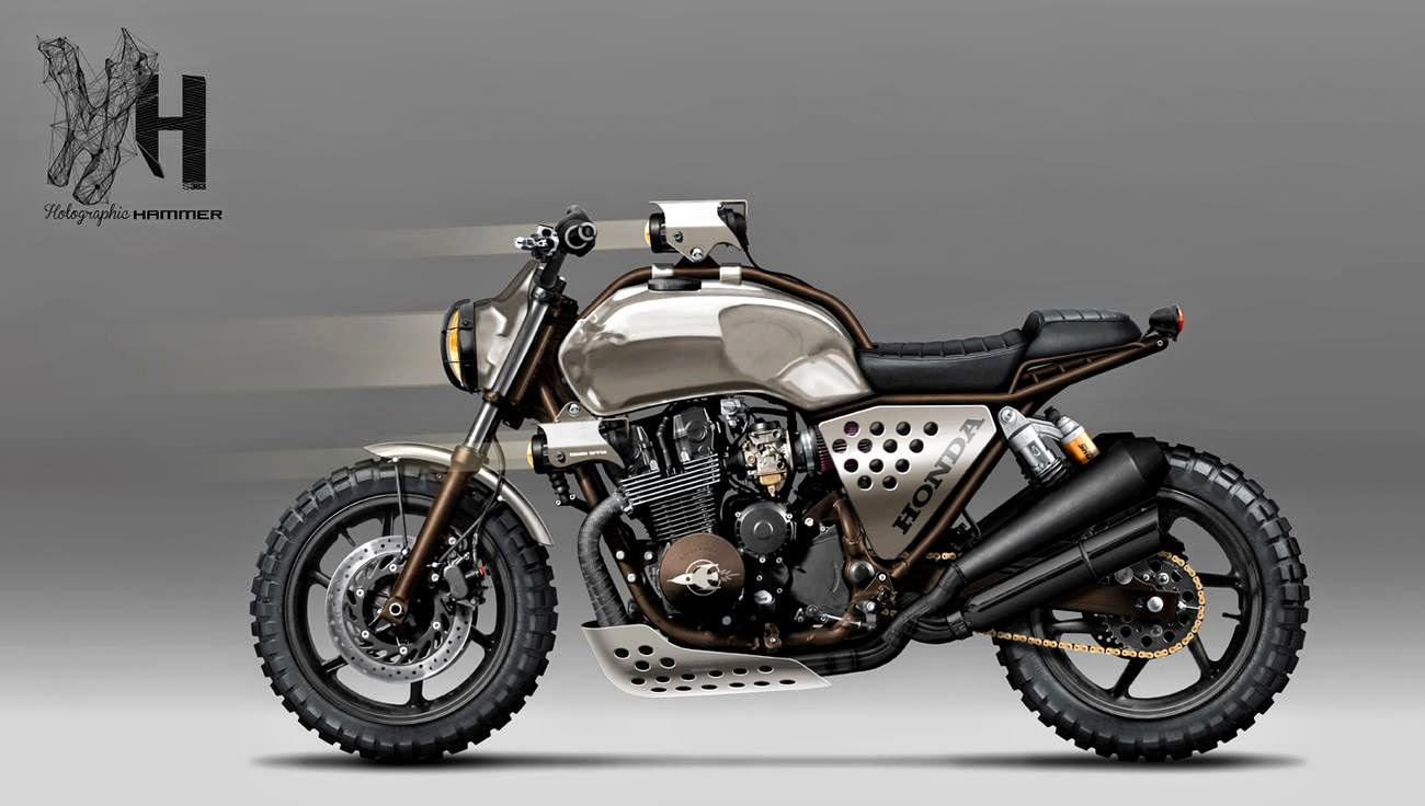 Racing caf caf racer concepts honda cb 750 1992 for Planet motors on military