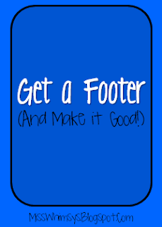 Get a Footer