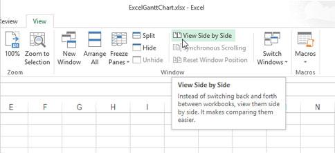 Cách mở nhiều Table cạnh nhau trong Excel 2013 2