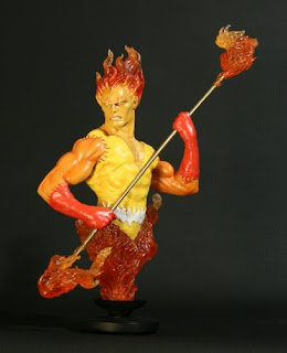 Firelord (Marvel Comics) Character Review - Mini Bust Product