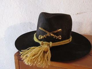 1800s cavalry officers hat