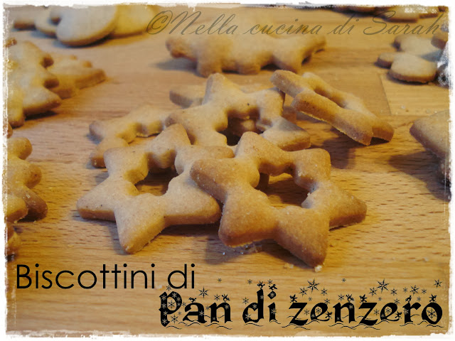 the recipe-tionist ~ biscottini di pan di zenzero