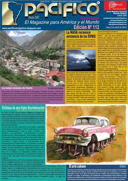 Revista Pacífico Nº 112 Turismo
