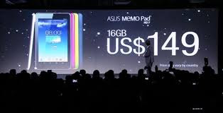 Asus memopad Brings HD 7 Budget Android Tablet For $ 149