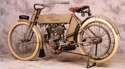 1909 Harley Davidson V Twin