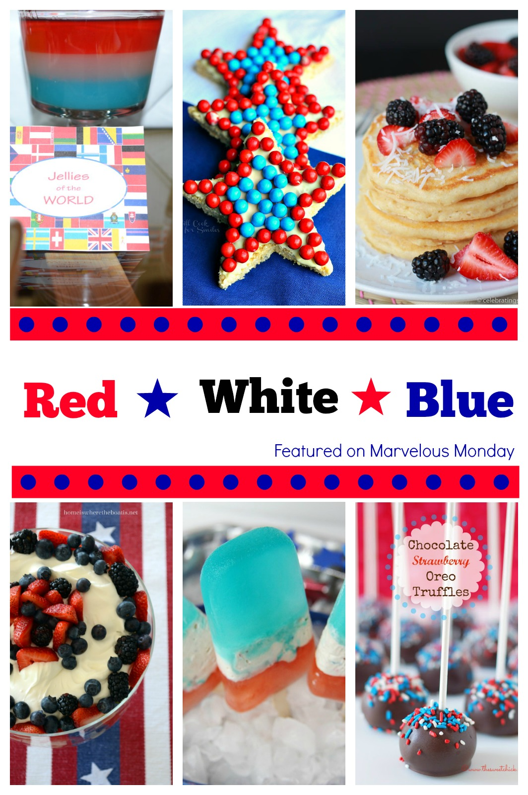 Red, White and Blue Recipes | Cooking on the Front Burner #memorialday #fourthofjuly