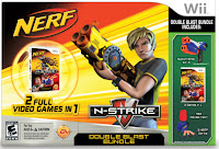 NERF N-Strike Double Blast Bundle – Wii