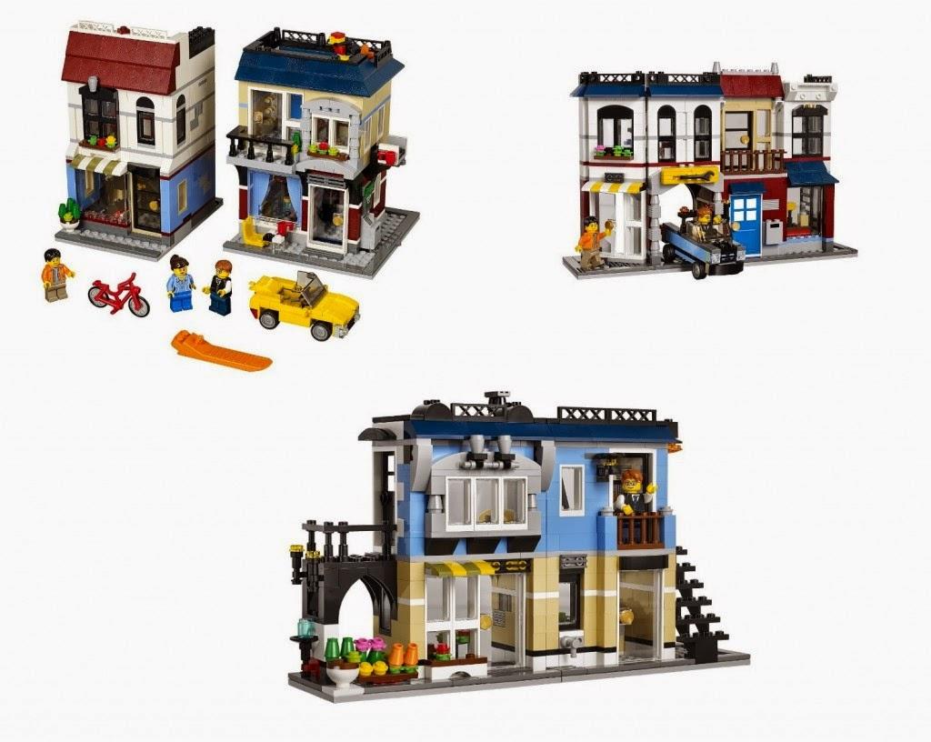 LEGO Creator 31026 Sklep Rowerowy i Kawiarnia 3w1 - MojeKlocki24.pl