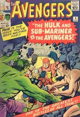 Avengers #3, the Hulk and Sub-Mariner