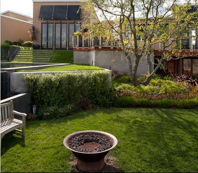 Fotos de jardin imajenes de jardines - Jardines en desnivel ...