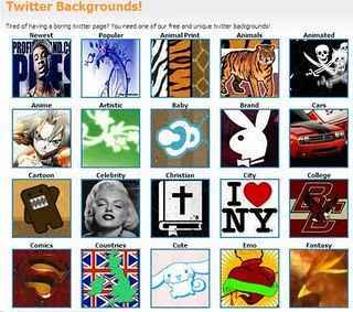 Sites de backagrouds planos de fundos para twitter