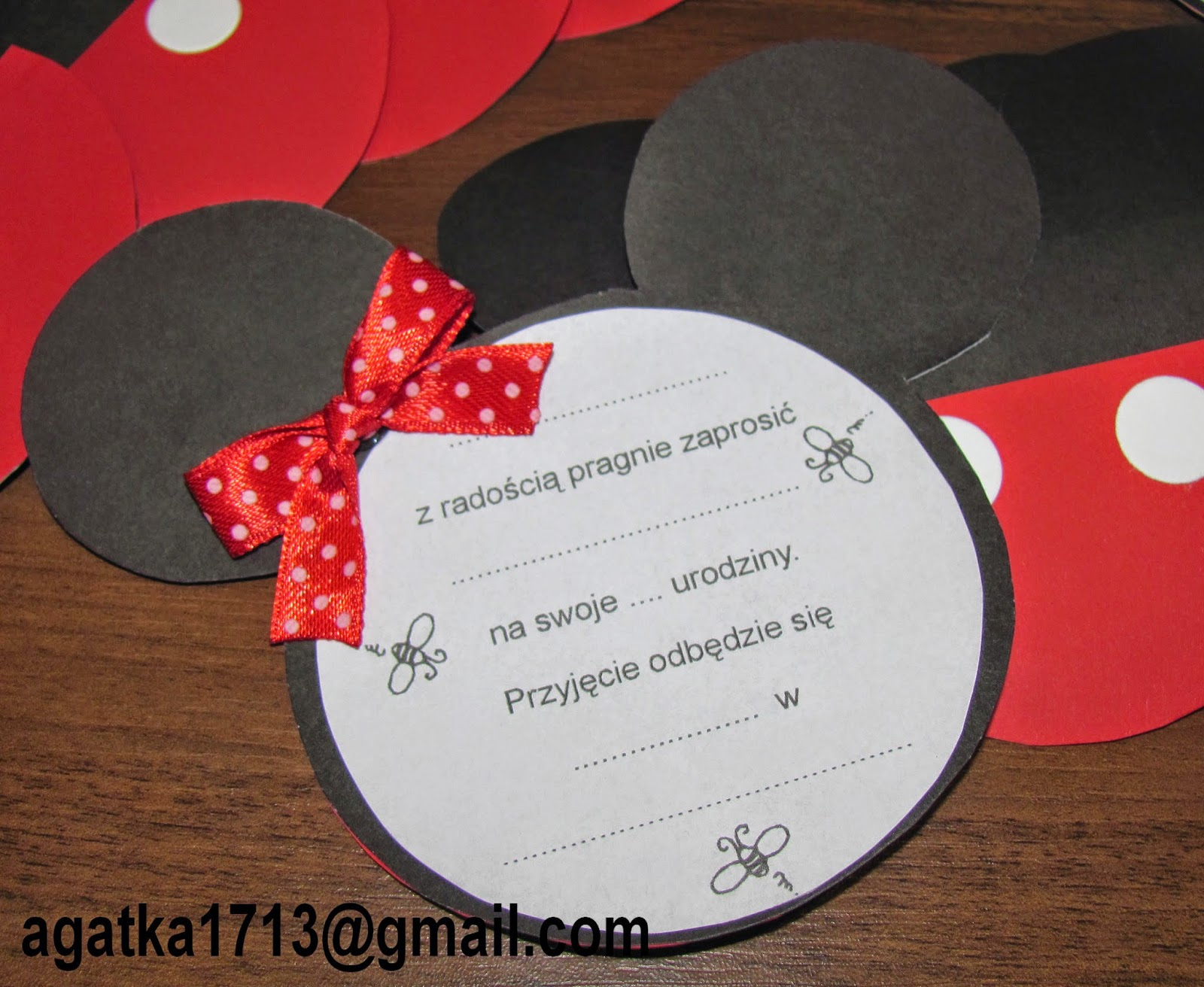 Kartki Ręcznie Robione Jagata Zaproszenie Dla Dziewczynki