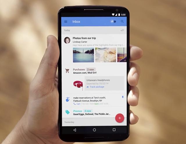 Google giới thiệu ứng dụng email Inbox: đơn giản hoá email, quản lý hộp thư tốt hơn