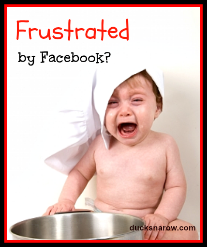 Frustrated by Facebook? #socialmedia Ducks 'n a Row