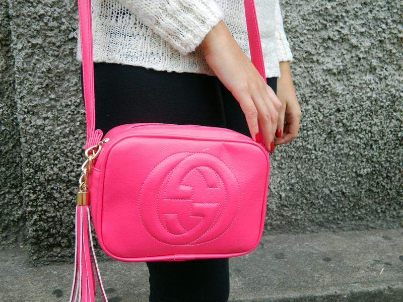 bolsa rosa channel