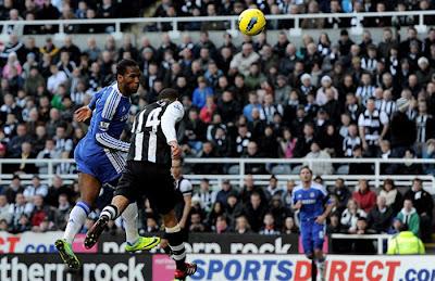 Newcastle United 0 - 3 Chelsea (2)