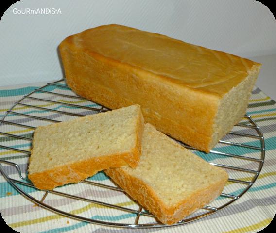 Gourmandista pain de mie fait maison for Congeler du pain de mie