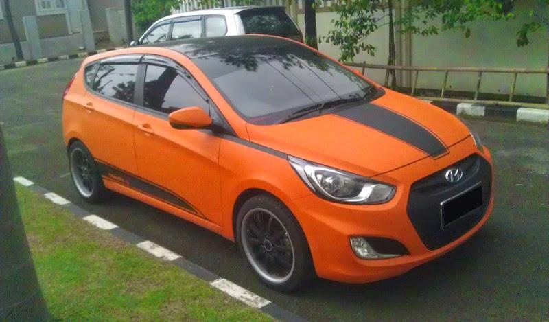 Modifikasi Mobil Hyundai Grand Avega Gaul
