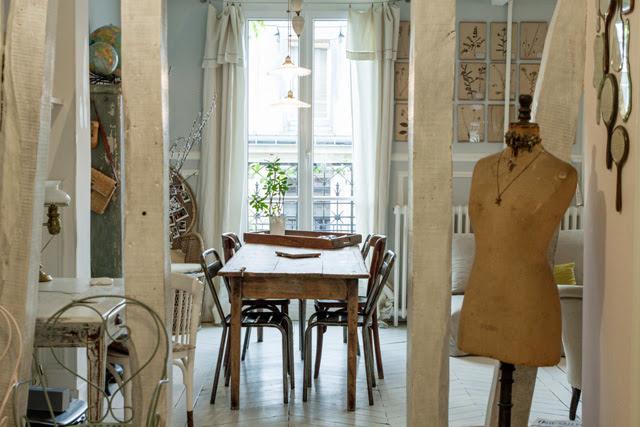 Décoration intérieur appartement Parisien XIe arrondissement - Le Petit Florilège - photo Richard Malaurie