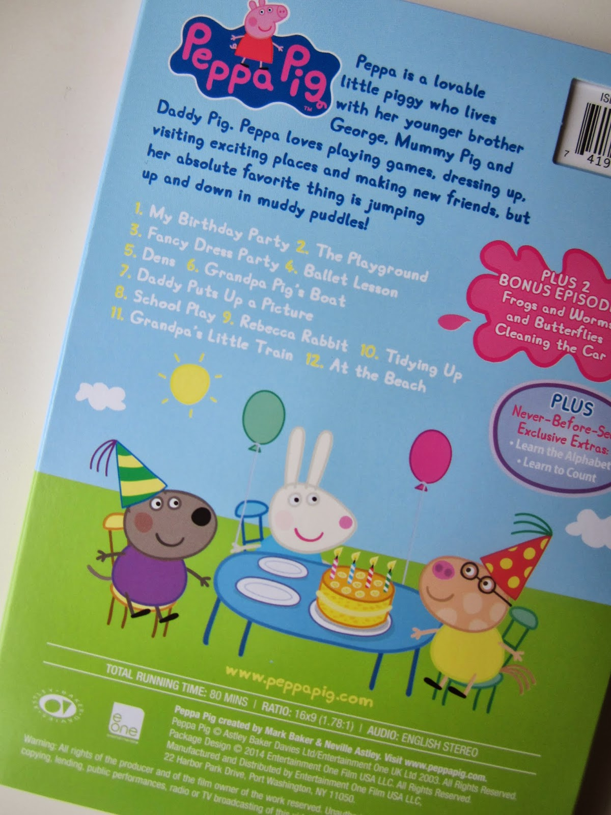 Peppa Pig My Birthday Party DVD Review and Giveaway #sponsored ...
