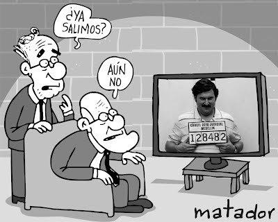 Caricatura del Matador