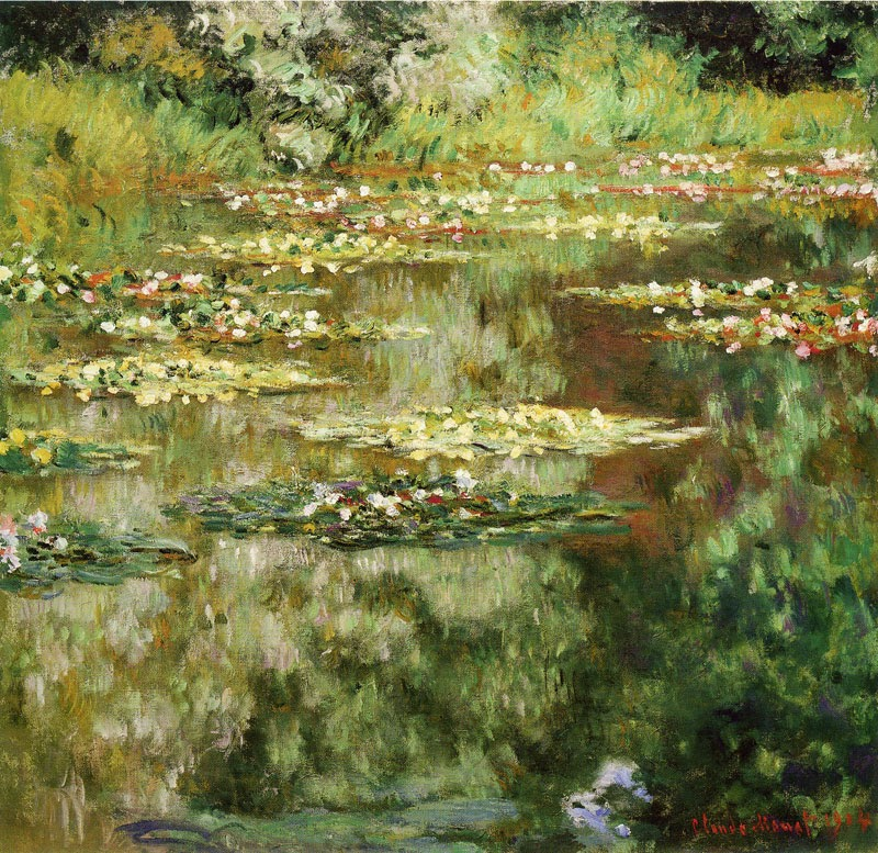 claude monet water lilies essay Claude monet was masterful painter of light and atmosphere whose observations details monet's process of painting the water lilies series monet.