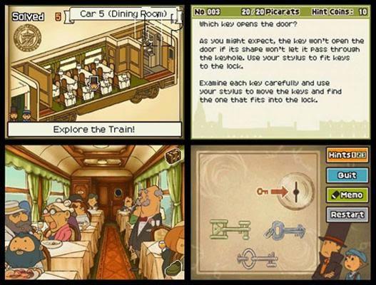 Profesor Layton y la caja de pandora nds rom game descargar gratis