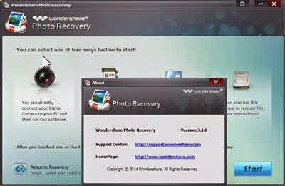 Wondershare Photo Recovery 3.1.0.6  Screen Shots