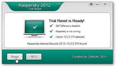 Download Kaspersky Internet Security 2012 With Trial Reseter