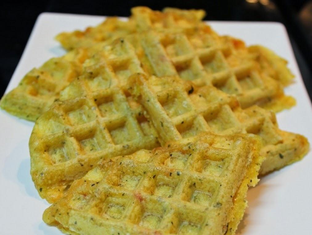 Waffle Pão de Queijo (vegana)