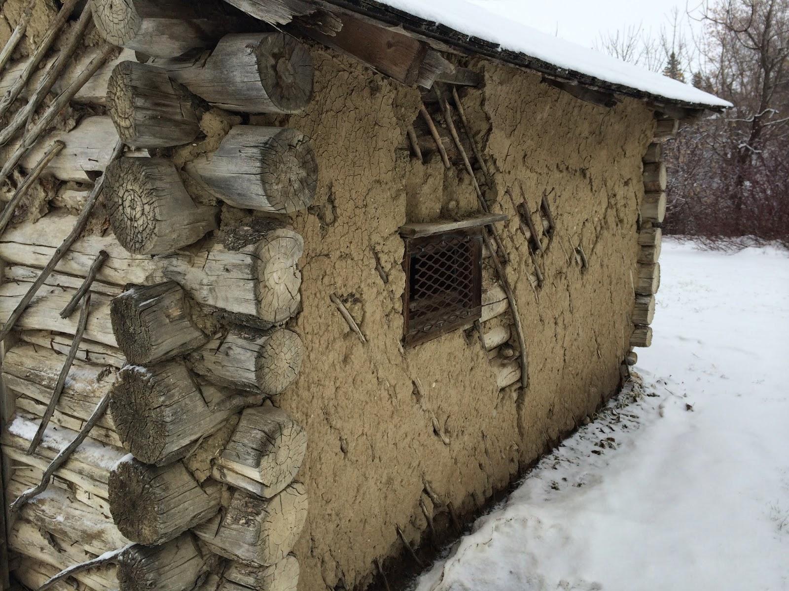 Bert Martin's Cabin, left wall
